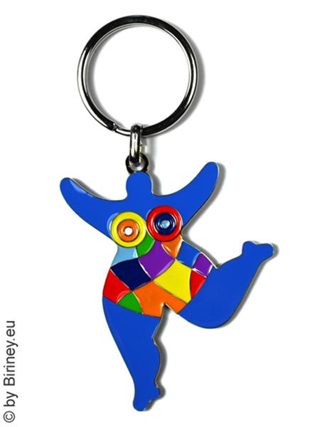Nana-Schlüsselanhänger in Blau - Original Biriney