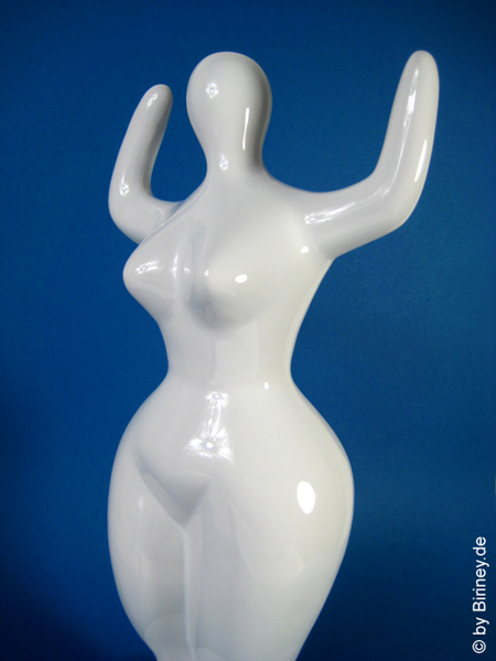 NANA sculpture to paint made of ceramic! 12 inches