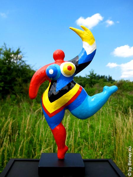 unikate Nana-Figur mit Flügel - Höhe 27cm